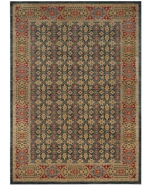 Safavieh Mahal Light Blue and Red 8' x 10' Area Rug