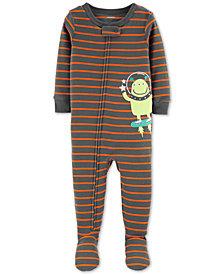 Carter's Baby Boys Footed Alien Pajamas