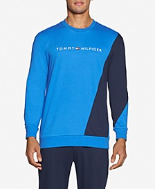 Tommy Hilfiger Men's Modern Essentials Colorblocked Long-Sleeve Sweatshirt