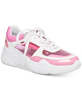 26741857697a Madden Girl Clarity Vinyl Sneakers