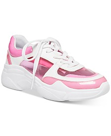 Madden Girl Clarity Vinyl Sneakers