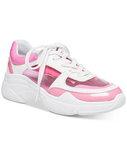 Madden Girl Clarity Vinyl Sneakers