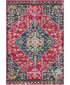 Safavieh Madison Pink and Turquoise 4' x 6' Area Rug