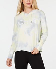 Calvin Klein Performance Tie-Dyed Logo Hoodie