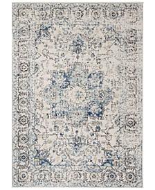 Madison Turquoise and Ivory 9' x 12' Area Rug