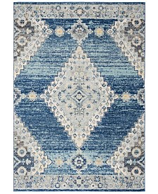 Safavieh Madison Navy and Creme 3' x 5' Area Rug