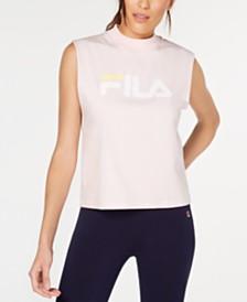 Fila Helena Logo Sleeveless T-Shirt