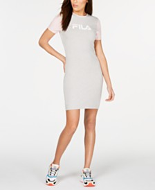 Fila Roslyn Colorblocked T-Shirt Dress