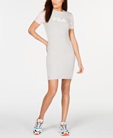 Fila Roslyn Colorblocked T-Shirt Dress