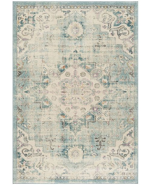 Safavieh Madison Cream and Blue 3' x 5' Area Rug