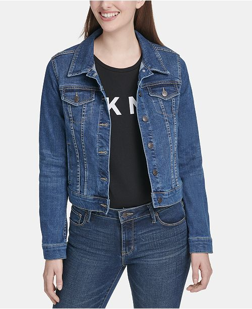 DKNY Denim Trucker Jacket