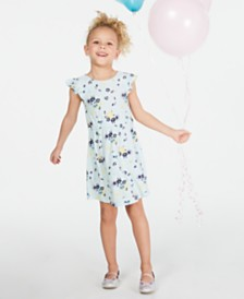 Epic Threads Super Soft Toddler Girls Floral-Print Dress, Created for Macy's