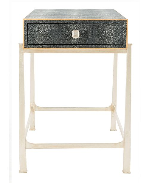 Safavieh Cleo Faux Shagreen End Table