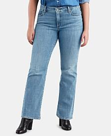 Levi's® Trendy Plus Size Bootcut Jeans