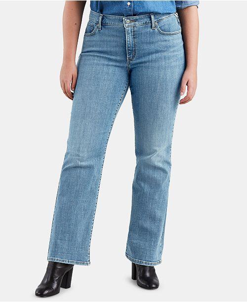 Levi's Trendy Plus Size Bootcut Jeans