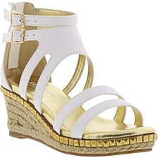 Little & Big Girls Reed Splash Wedge