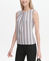 6a16a9b937243e Calvin Klein Womens Tops - Macy s