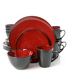 Soho Lounge Round 16 Piece Dinnerware Set
