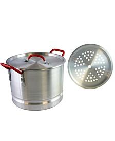 Cocina Pamona 12 Quart Tamale Pot with Steamer Insert