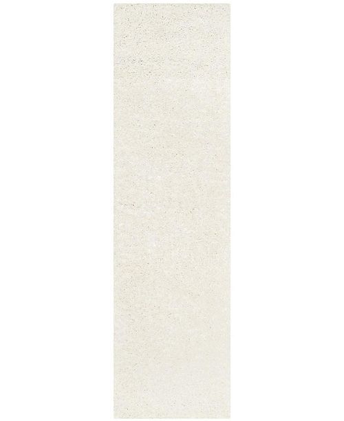 "Safavieh Athens White 2'3"" x 8' Runner Area Rug"