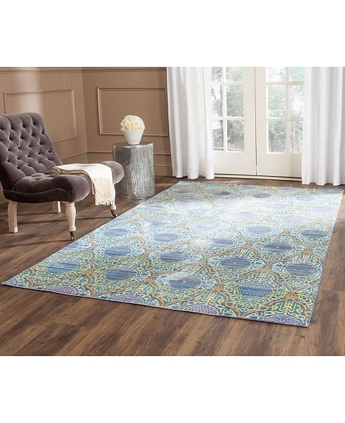 Safavieh Valencia Lavender and Gold 6' x 9' Area Rug