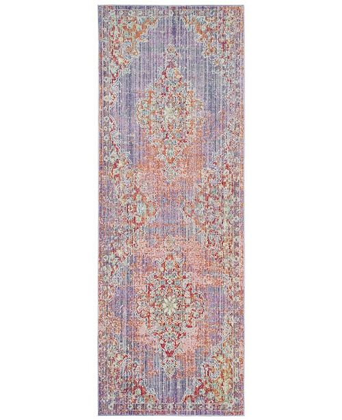 Safavieh Windsor Lavender and Fuchsia 3' x 8' Area Rug