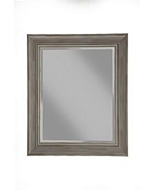 Martin Svensson  Antique Grey Farmhouse Wall Mirror