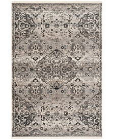 Safavieh Vintage Persian Gray 5' x 5' Square Area Rug