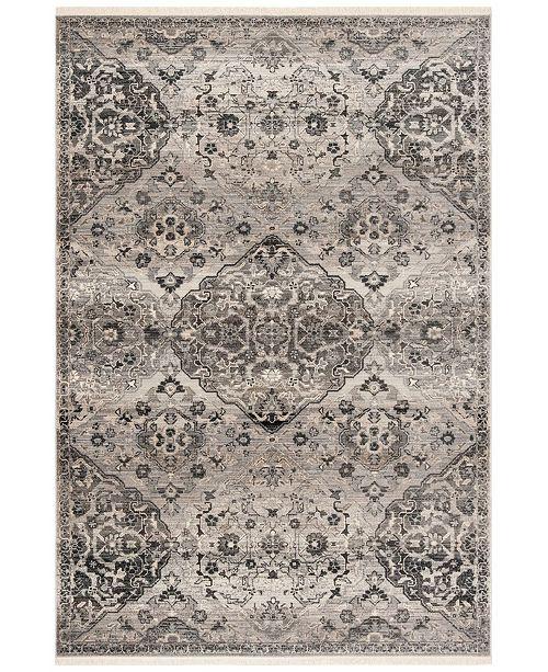 Safavieh Vintage Persian Gray 5' x 5' Square Area Rug