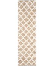 """Dallas Beige and Ivory 2'3"""" x 8' Runner Area Rug"""