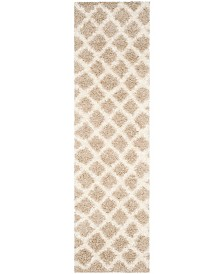 "Safavieh Dallas Beige and Ivory 2'3"" x 8' Runner Area Rug"