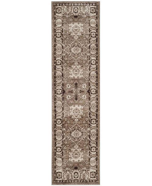 """Safavieh Vintage Hamadan Taupe 2'2"""" x 8' Runner Area Rug"""
