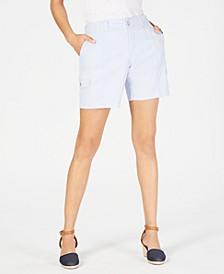 Comfort-Waist Cargo Shorts, Created for Macy's