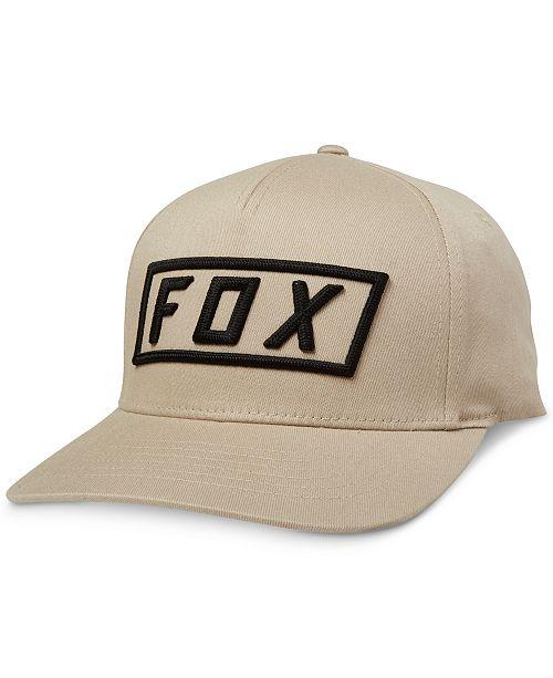 aaa0103b73f Fox Men s Flexfit Logo Graphic Hat  Fox Men s Flexfit Logo Graphic ...