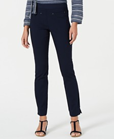 Style & Co Pull-On Knit Pants, Created for Macy's