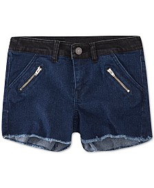 Levi's® Big Girls Colorblocked Zipper Shorts