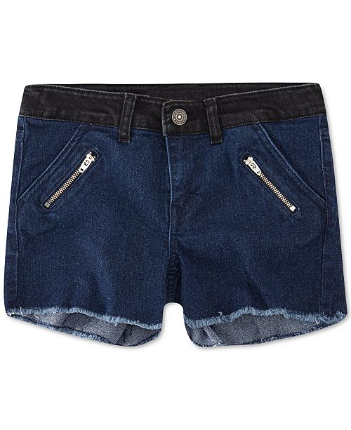 Levi's Big Girls Colorblocked Zipper Shorts
