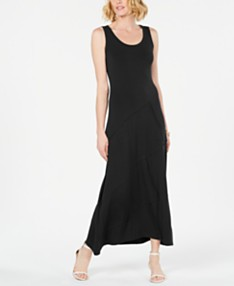 7bfd459567c Style & Co Sleeveless Asymmetrical-Seam Maxi Dress, Created for Macy's