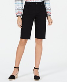 Style & Co Petite Cutoff Bermuda Shorts, Created for Macy's