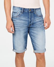 G-Star RAW Men's Cuffed Denim Shorts, Created for Macy's