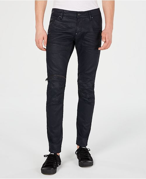e4ad9e2724e G-Star Raw Men's 5620 Elwood 3D Zip Knee Skinny Jeans & Reviews ...