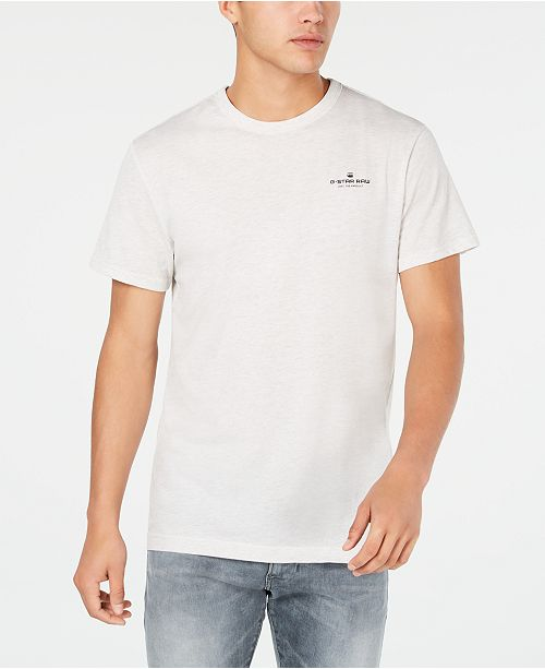 G-Star Raw G Star RAW Men's Rodis Heathered T-Shirt