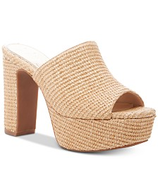 Jessica Simpson Camree Platform Slide Dress Sandals