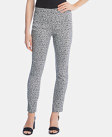 Karen Kane Printed Pull-On Skinny Pants