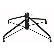 Puleo International Rotating Tree Stand for 7 to 7.5 foot Christmas Tree, Black