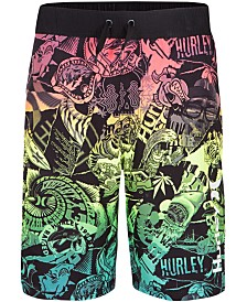 Hurley Big Boys Sticker Printed Board Shorts