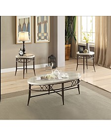 Aldric 3-Piece Coffee/End Table Set