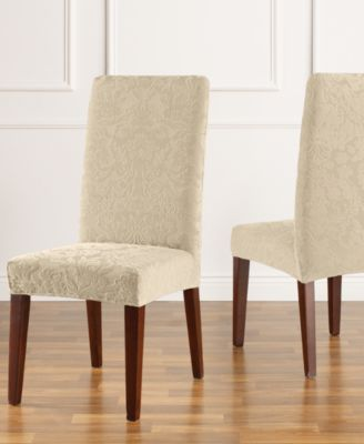 dining room chair slipcovers: shop chair covers- macy's - macy's