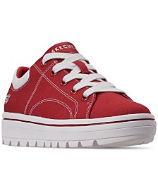 Skechers Women's Street Cleat - Bring It Back Casual Sneakers from Finish Line