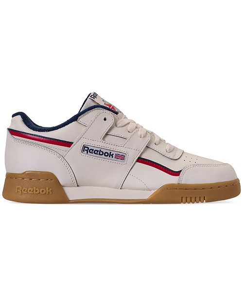 6aba22e1e8e Reebok Men s Workout Plus MU Casual Sneakers from Finish Line ...